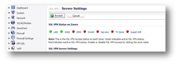 1 Public IP for SSL VPN on SW UTM