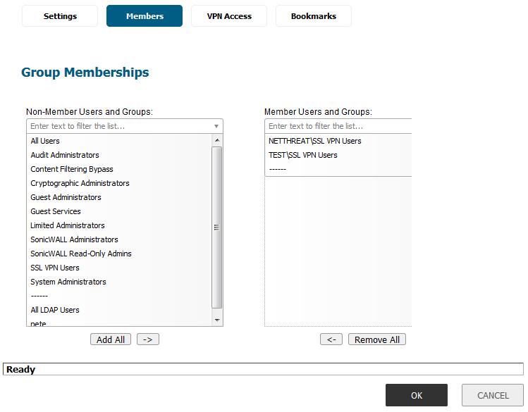 Adding User Groups 1