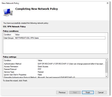 SSL VPN Password Change 11
