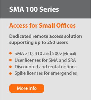 SMA 100 Series Options