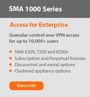 SMA 1000 Series Options