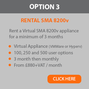 SMA 8200v Option 3